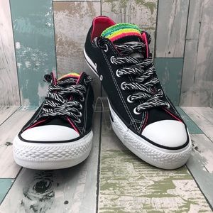 Converse Layered Tongue Sneakers Unisex Size M7 W9